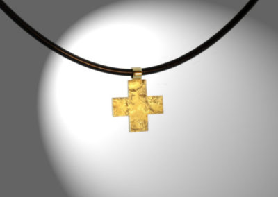 Griechisches Kreuz, Gold