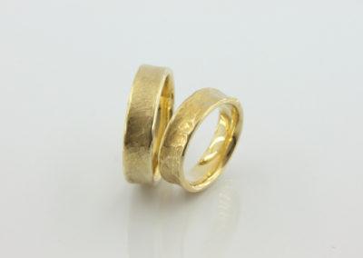 Trauring, Gold, modelliert-konkav